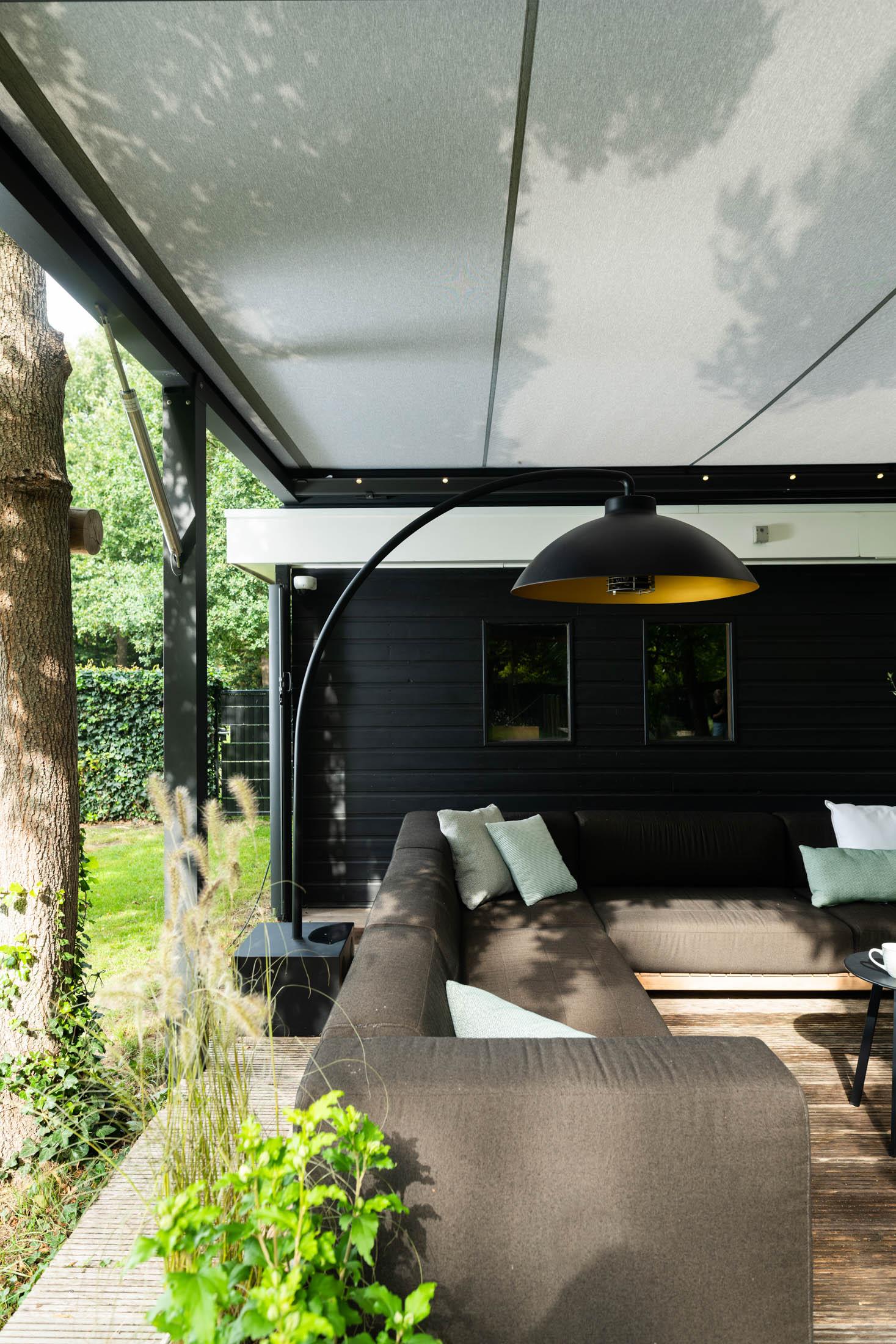 Interieur van buitenkamer project Oisterwijk