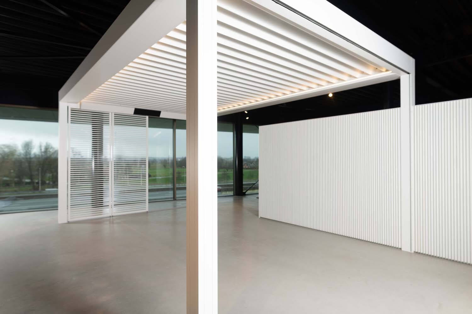 Showroom terrasoverkappingen tuinkamers Ede